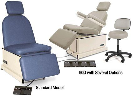 Hill HA90D Dermatology Medical Chair for Skin, Scalp and Limb Surgical and Exam Procedures